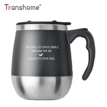 Coffee Mug Thermos Cup Double Wall Stainless Steel Insulated Tumbler 450 ML - $20.99