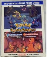 Pokemon Mystery Dungeon Blue & Red Guide Ninten... - $2.96