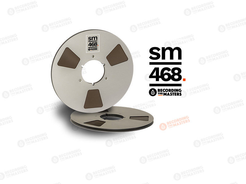 "RTM SM468 AGFA PEM468 Master Tape Metal Reel 1/4"" 2500ft 762m Authorised Dealer"