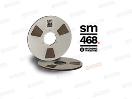 "RTM SM468 AGFA PEM468 Master Tape Metal Reel 1/4"" 2500ft 762m Authorised... - $72.27"