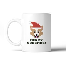 Merry Corgmas Corgi White Mug - €13,18 EUR