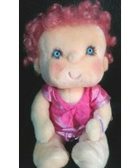 1985 Hugga Bunch PINK Doll VINTAGE HUGGINS Kenner Hallmark Plush Hair Cl... - $29.99