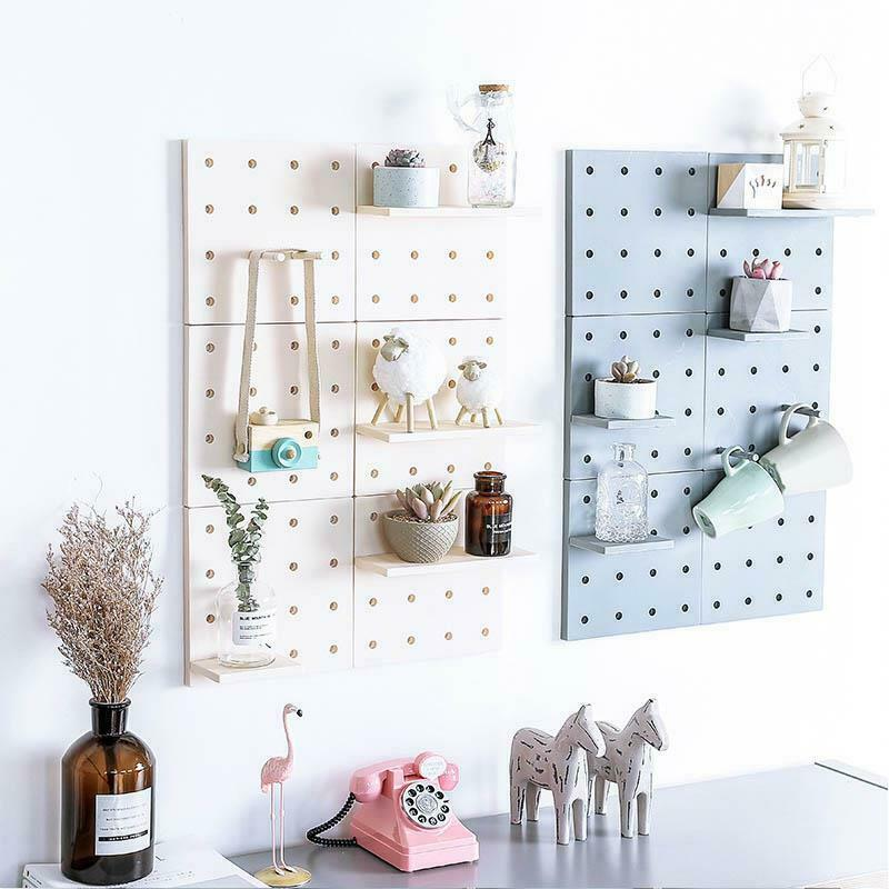 Hole Plate Wall Storage Rack Living Room Kitchen Suction Holders Home Organizers image 10