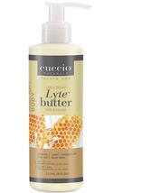 Cuccio Lytes Ultra Sheer Body Butter,  Milk & Honey    8 oz