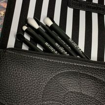 Melt X Beetlejuice Lydia Mirror, Brush Set & Bag ( pouch / Clutch) NWOB FROM PR image 7