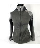 Magellan Outdoors Womens Sweatshirt Sz S Sm Hooded Hoodie Full Zip Black... - $28.72