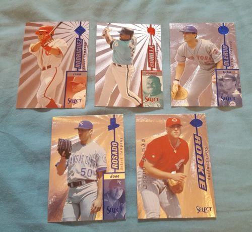 1997 Select Baseball Select Company Inserts Lot Of 5 Cards