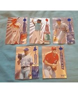1997 Select Baseball Select Company Inserts Lot Of 5 Cards - $2.00