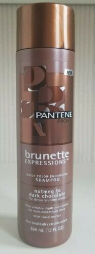 Primary image for Pantene Pro V Brunette Expressions Daily Color Enhancing Shampoo 13 oz New