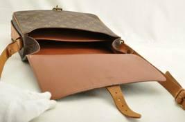 LOUIS VUITTON Monogram Cartouchiere GM Shoulder Bag M51252 LV Auth ar1643 image 10