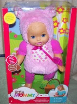 """Fisher Price Little Mommy Dress Up Cuties FLUFFY BUNNY 12""""H Doll New - $16.88"""