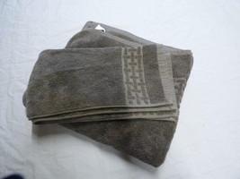 Lauren Ralph Lauren Pierce Towels set (1 bath, 2 hand), Faded Espresso - $9.55