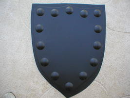 "Medieval Shield Mold 24x30x3"" Makes Concrete or Plaster Hanging Wall Plaques  image 3"