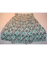 FREE PEOPLE SIZE 2 BLUE & WHITE PATTERN TUBE DRESS MADE IN INDIA - $25.73