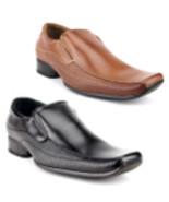 New Ferro Aldo Men's 19505 Classic Slip on Textured Dress Shoes Loafers - $39.99