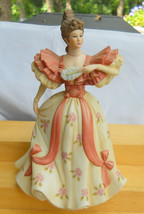 LENOX FIRST WALTZ FIGURINE WOMAN VICTORIAN LADY PORCELAIN - $42.07