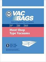 DVC Fits Most Shop Vac Type Canisters Vacuum Cleaner Bags Made in USA [ ... - $29.33