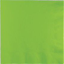 2 Ply Lunch Napkins Fresh Lime/Case of 600 - £30.54 GBP