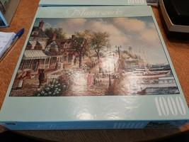 "Masterworks RoseArt 1000 Piece Jigsaw Puzzle ""Harbear Blvd."" ~ New - $11.29"