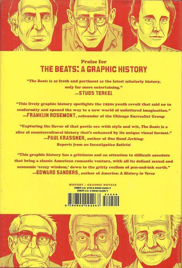 THE BEATS - A GRAPHIC HISTORY - BEATNIKS & BEAT GENERATION - GRAPHIC NOVEL STYLE