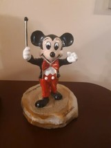 Ron Lee Mickey Mouse Conductor Figurine Limited Edition 2510 of 2750 Aut... - $89.05