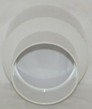 PTI Brand Six Inch By Eight Inch PVC SDR35 Solvent Weld Reducer Coupling image 2