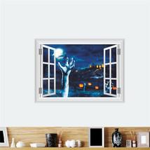 ZOOYOO® Pumpkin Lantern Left Hand Wall Stickers Halloween Decoration 3d ... - $7.50