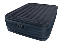 Raised Air Mattress Inflatable Queen Airbed With Built In Pump Bed Comfo... - ₨6,997.44 INR