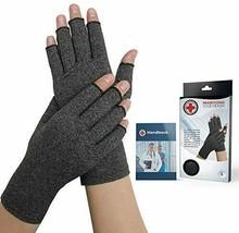 Doctor Developed Compression Arthritis Gloves -Size M - Handbook Included