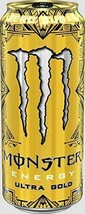 Monster Energy Drink Ultra Gold 16 oz Cans (Pack Of 4) - $19.75