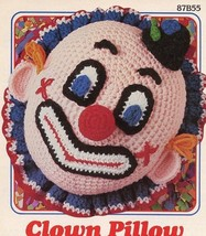 "11"" x 12"" Clown Pillow Annie's Pattern Club Cro... - $5.37"