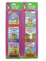 Bible Card Games Bundle- 2 Items: One Pack of Bible Heros, Hearts and Me... - $21.26