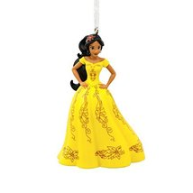 Hallmark Christmas Ornament Disney Elena of Avalor Holiday Yellow Dress - $19.99