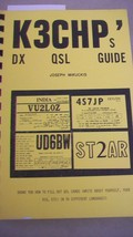 K3CHP's DX QSL Guide by Joesph Mikuckis, Fill out QSL Cards in 54 Languages - $9.89