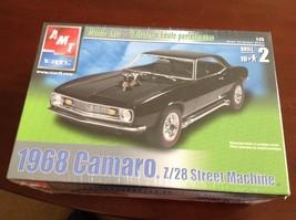1968 Chevy Camaro Z/28 AMT muscle car 1/25 Car Plastic Model Kit Chevrolet - $19.03