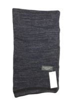 Bloomingdale's Men's Navy/Black Speckled Scarf - $49.01