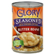 Glory Foods Seasoned Butter Beans, 15-Ounce (Pack of 12) - $45.28
