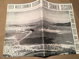 Chesley Bonestell 1939 Summer Session Mills College-  San Francisco - $73.50