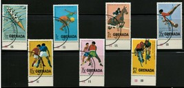 GRENADA 1975 VF NH Stamps Scott # 668-74 CV 1.90 $ Sports - $1.12