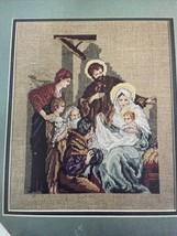 Silent Night Holy Night Counted Cross Stitch Chart Pattern Carol Emmer 888 - $4.80