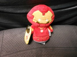"Hallmark Itty Bittys ""Hulkbuster Iron Man"" 2016 NEW Plush Tag Has Creases - $7.38"