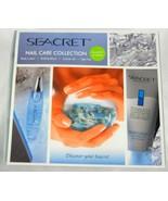 SEACRET Nail Care Collection Kit Body Lotion Bu... - $24.99
