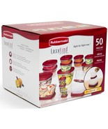 Rubbermaid Easy Find Lids Food Storage Set 50 pc Freezer Microwave  Cont... - $36.62