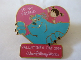 Disney Trading Pins 28187 Sweetheart Collection - Sulley and Boo - $27.93