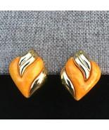 Gold Tone Clip On Earrings - $12.77