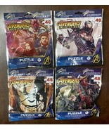 Lot of 4 Marvel Avengers Infinity War 48pc Puzzles On the Go! By Cardina... - $13.86