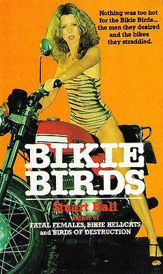 Primary image for Bikie Birds - 1973 - Pulp Novel Cover Poster