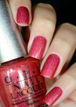 OPI DS Designer Series REFLECTION Ruby Rose Red Pink Nail Polish Lacquer... - $15.03