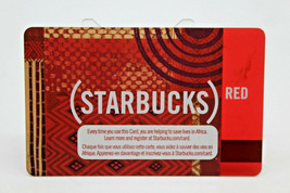Starbucks Coffee 2009 Gift Card (STARBUCKS) Red Zero Balance No Value (B) - $11.27