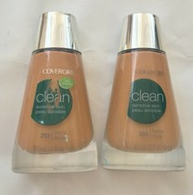 3-Pack NEW CoverGirl Clean Sensitive Skin Liquid Makeup Powder in 265 56... - $19.79